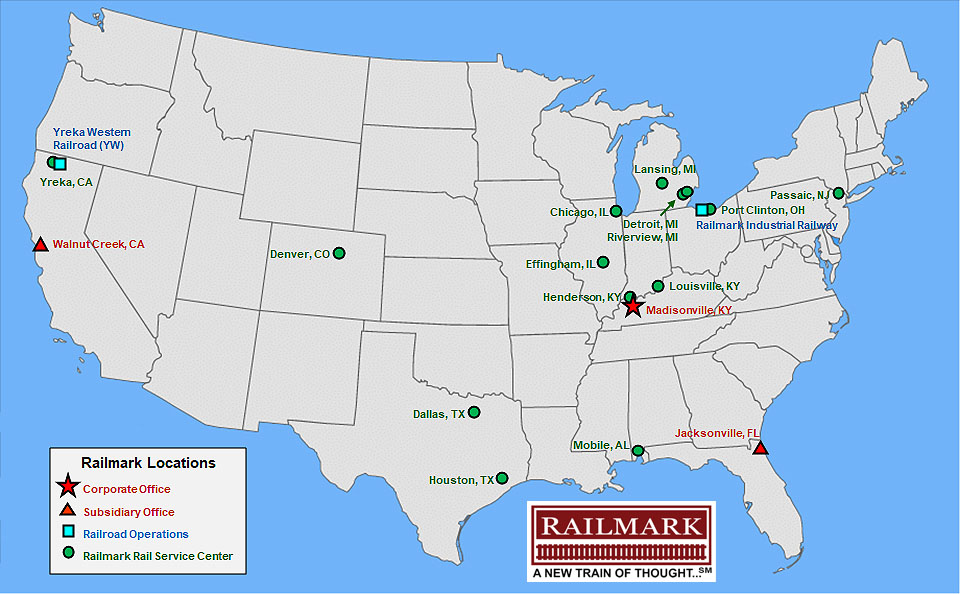 Railmark Holdings Inc. on chicago central station track map, loop train map, chicago terminal railroad map, texas bullet train map, union pacific railroad map, union pacific track map, chicago train station map, chicago bridge map, dakota minnesota and eastern railroad map, chicago rock island pacific railroad map, illinois railroad map, midwest railroad map, springfield terminal railroad route map, chicagoland railroad map, new york central railroad system map, chicago area railroad map, chicago union station history, chicago northwestern track map, ej&e railroad map, chicago aurora elgin railroad map,